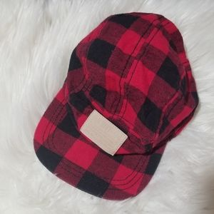 Old navy plaid kids/baby cap sz small